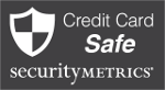 Credit Card Safe badge
