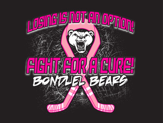Hockey Cancer Awareness Designs artwork category