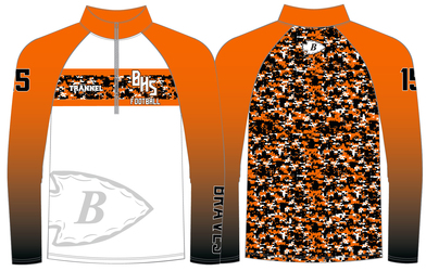 Sublimated Pullover Designs