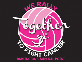 Volleyball Cancer Awareness Designs artwork category