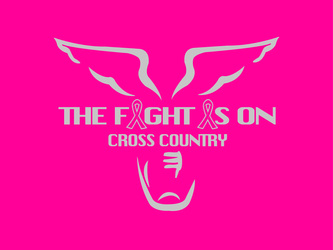 Track & Cross Country Cancer Awareness Designs artwork category