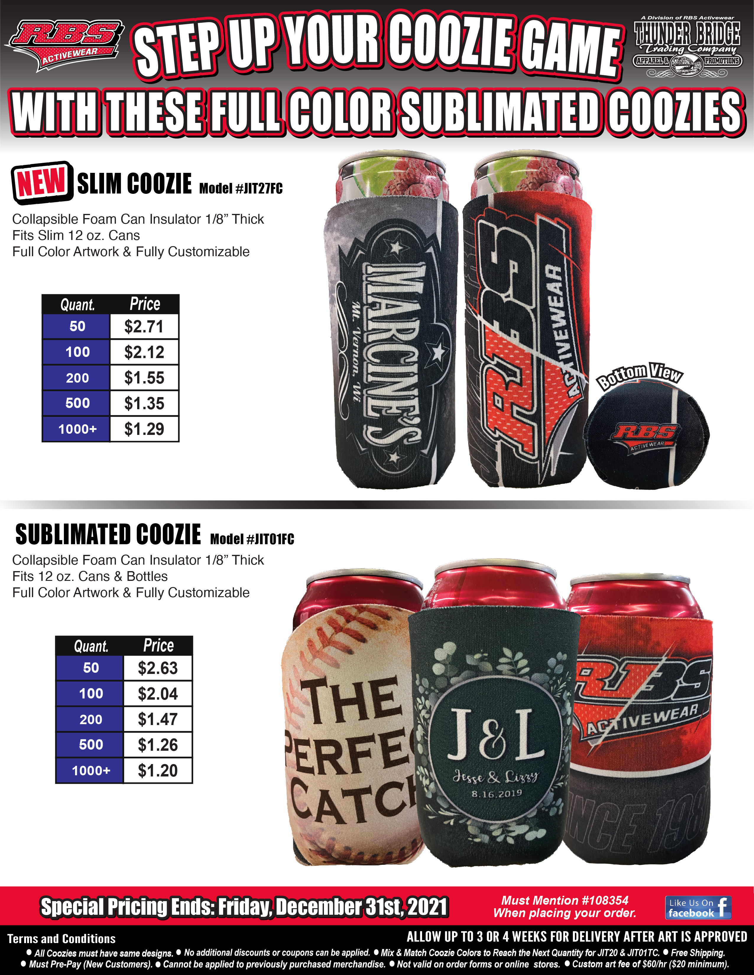 Step Up Your Coozie Game Special Downloadable Image
