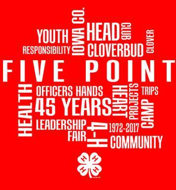 Image for Five Point 4-H 2019