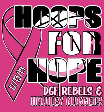 Image for Hoops for Hope DGF H.S & Hawley H.S. Basketball 2019