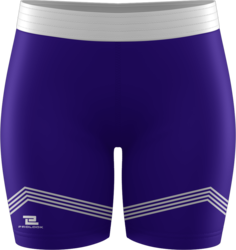 Sublimated Prolook Womens Compression Mid-Thigh Short