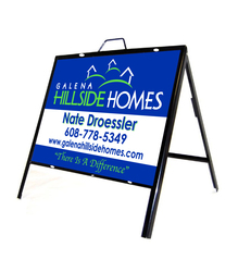 "18"" x 24"" Full Color A-Frame Realtor Sign"