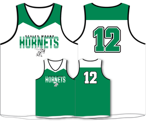 Sublimated 1 Ply Reversible Basketball Jersey with Design
