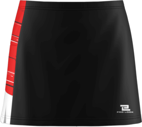 Sublimated Prolook Womens Tennis Skort