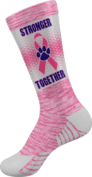 Sublimated Prolook Quick-Turn Crew Sock