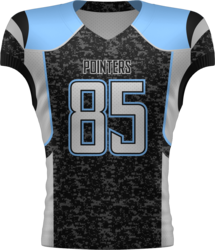 Sublimated 17 Football Jersey with Design