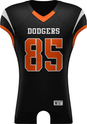 Tackle Twill Football Jersey with Design