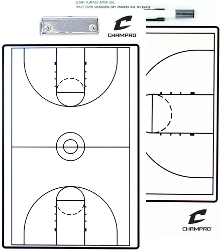"10"" x 16"" Coach's Basketball Board"