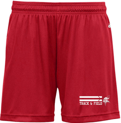 Badger Ladies B-Core Performance Shorts with Design