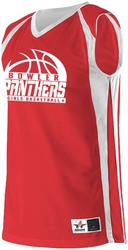 Ladies Reversible Basketball Jersey with Design