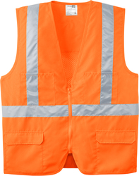 Mesh Back Safety Vest