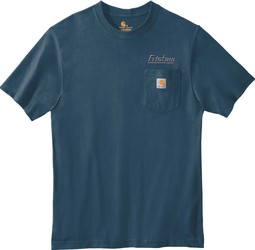 Workwear Pocket Short Sleeve T-Shirt with Design
