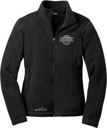 Ladies Eddie Bauer Full-Zip Fleece Jacket with Design