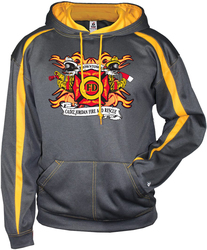Fusion Hooded Sweatshirt with Design