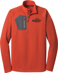1/2-Zip Performance Fleece Jacket with Design