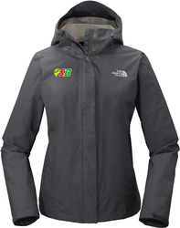 North Face Ladies DryVent Rain Jacket with Design