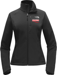 North Face Ladies Apex Barrier Soft Shell Jacket with Design