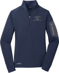 Ladies 1/2-Zip Performance Fleece Jacket with Design