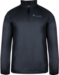 Pro Heather 1/4-Zip Pullover with Design