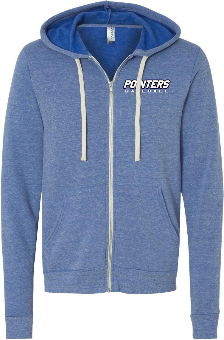99a6a3502 Triblend Fleece Full-Zip Hooded Sweatshirt