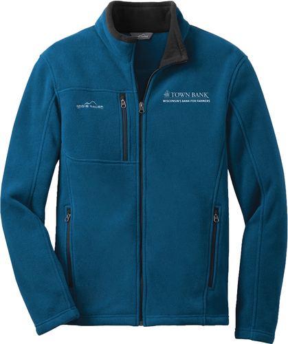 Eddie Bauer Full-Zip Fleece Jacket with Design