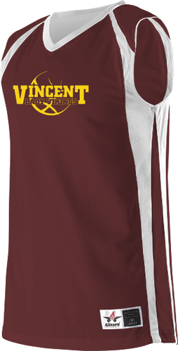 Mens Reversible Basketball Jersey with Design
