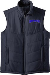 Puffy Vest with Design