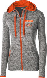 Ladies Full-Zip Lightweight Jacket with Design