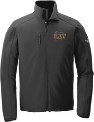 North Face Tech Stretch Soft Shell Jacket with Design