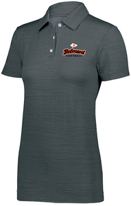 Ladies Striated Sport Shirt Front