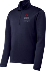 Competitor 1/4-Zip Pullover with Design