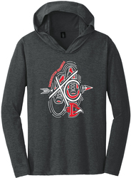 Perfect Tri Long Sleeve Hooded T-Shirt Front
