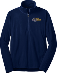 1/2-Zip Microfleece Pullover with Design