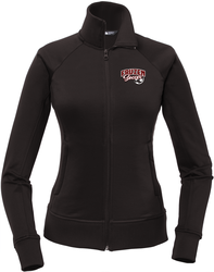 North Face Ladies Tech Full Zip Fleece Jacket with Design