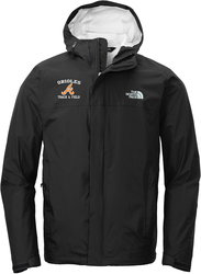 North Face DryVent Rain Jacket with Design