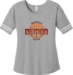 Women's Scorecard T-shirt with Design