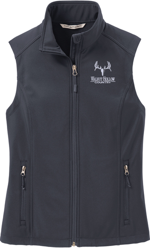 Ladies Core Soft Shell Vest with Design