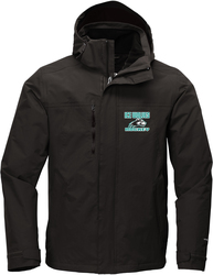 North Face Traverse Triclimate 3-in-1 Jacket with Design
