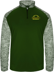 Sport Blend 1/4 Zip Pullover with Design