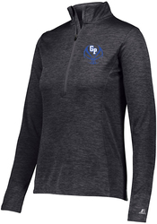 Ladies Dri-Power Lightweight 1/4 Zip Pullover with Design