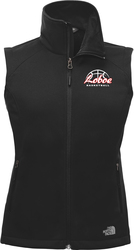 North Face Ladies Ridgeline Soft Shell Vest with Design