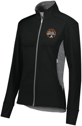 Ladies Free Form Jacket with Design