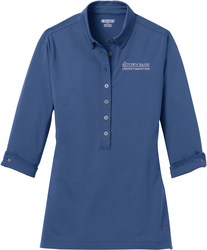 Ladies Gauge Sport Shirt with Design