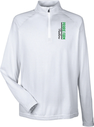 Tech Stripe 1/4-Zip Pullover with Design