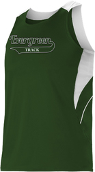 Mens Loose Fit Track Tank with Design