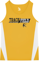 Stride Singlet with Design
